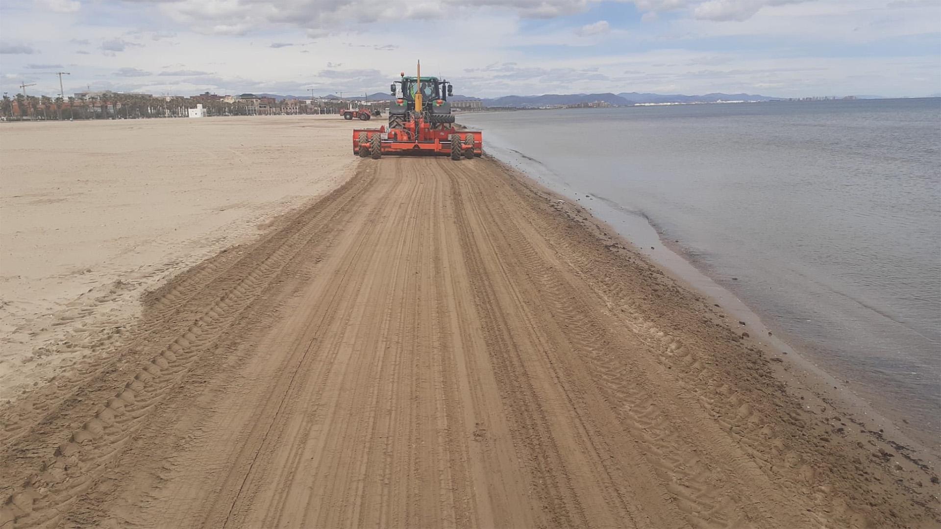 Limpieza playas fin de semana