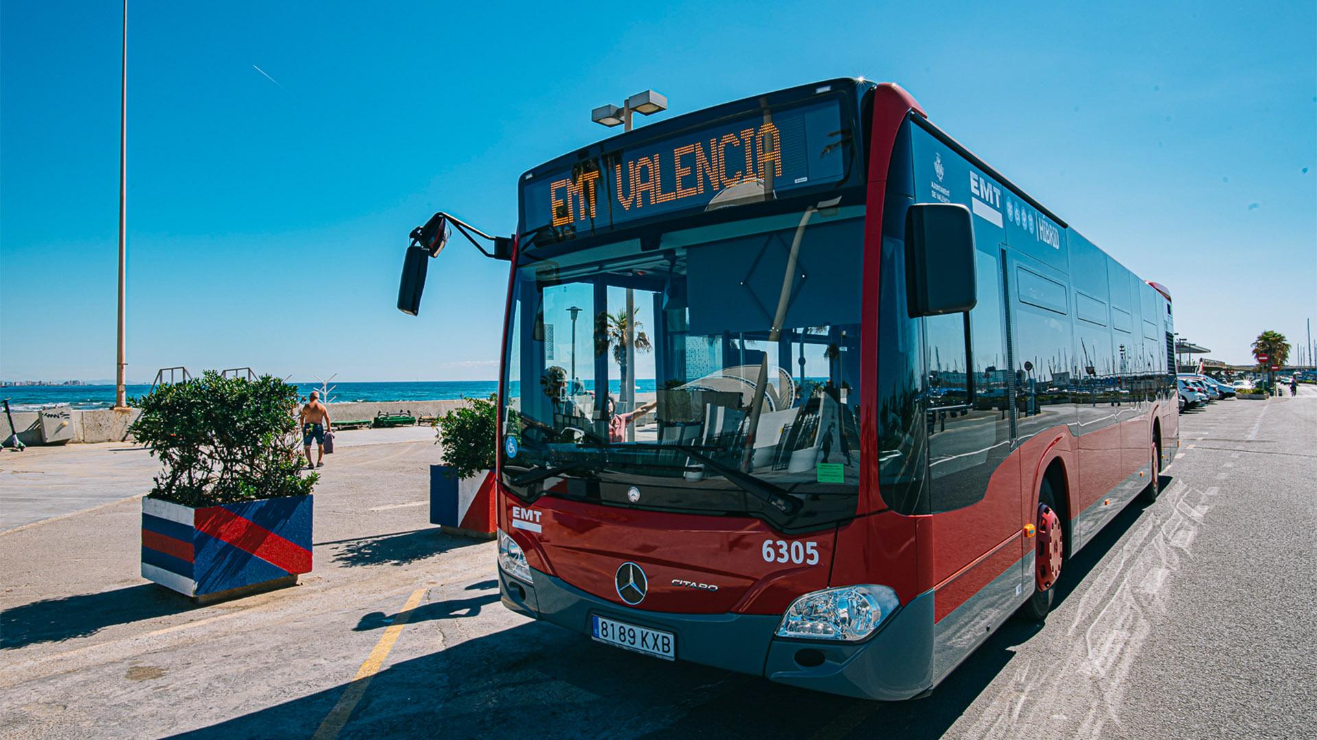 EMT servicio playas