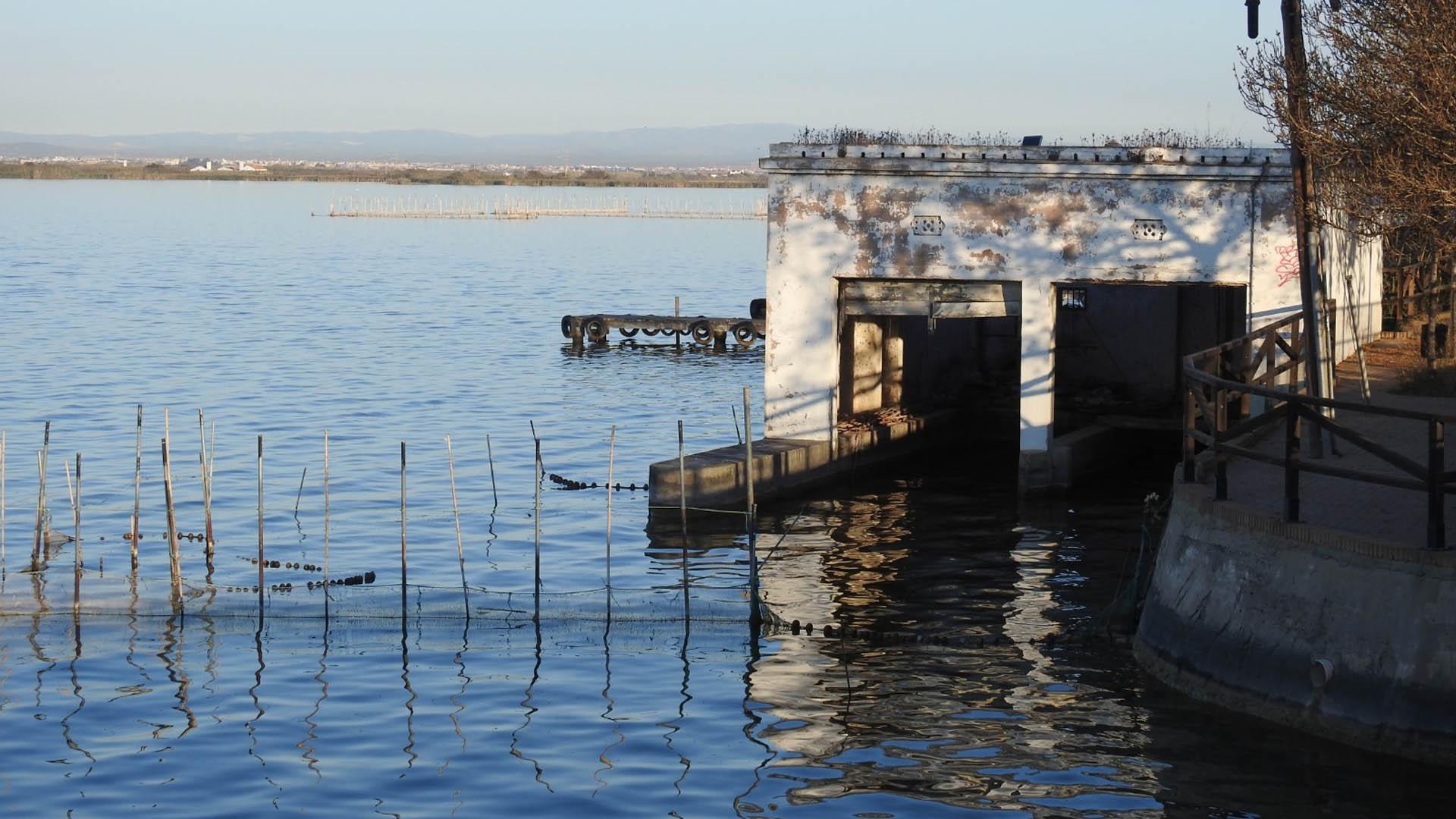 Restauración embarcadero Gola del Pujol