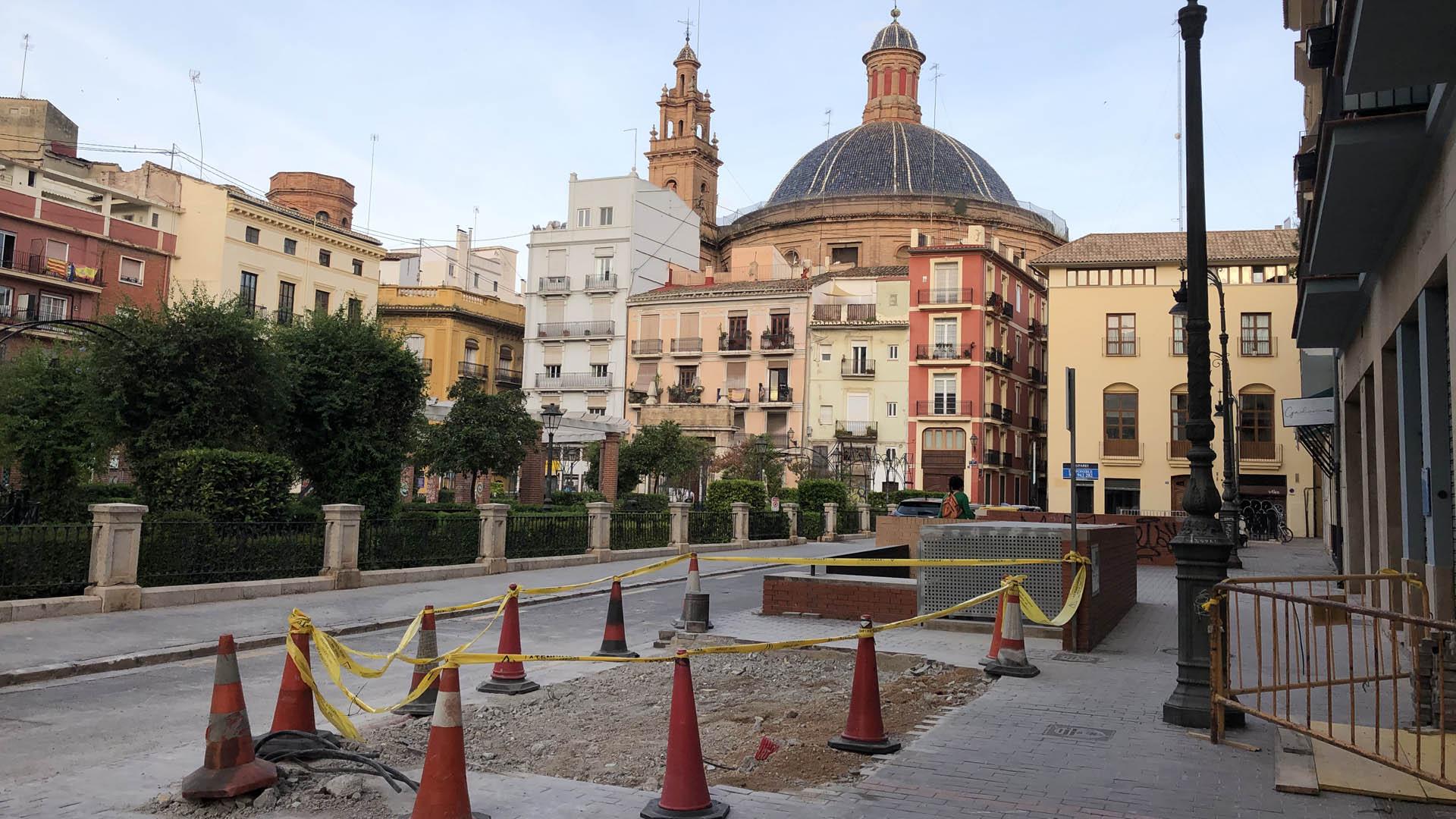 Centro transformación eléctrica plaza Joan Vila-rasa